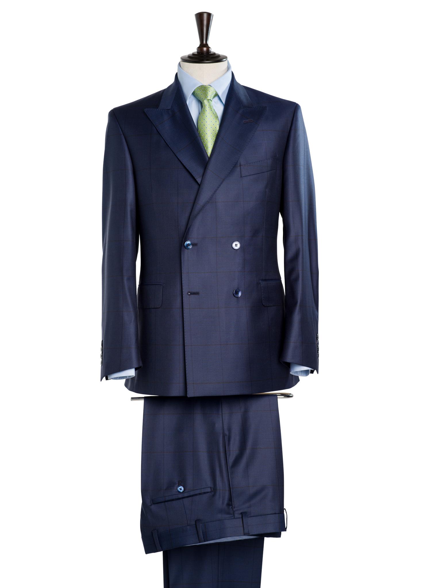 doppelreihiger Anzug nach Maß Wien buttondown.jpg