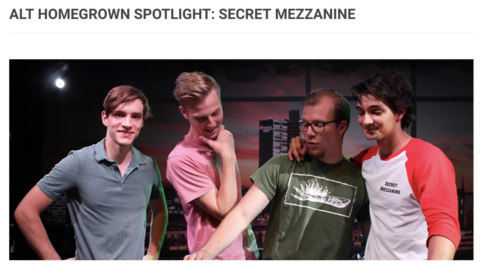 Alt 102.3 Homegrown Spotlight on Secret Mezzanine