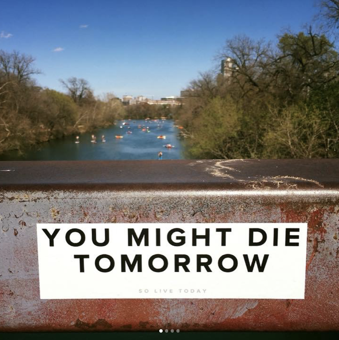 you-might-die-tomorrow