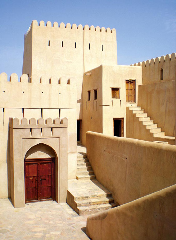 Nizwa Fort architecture