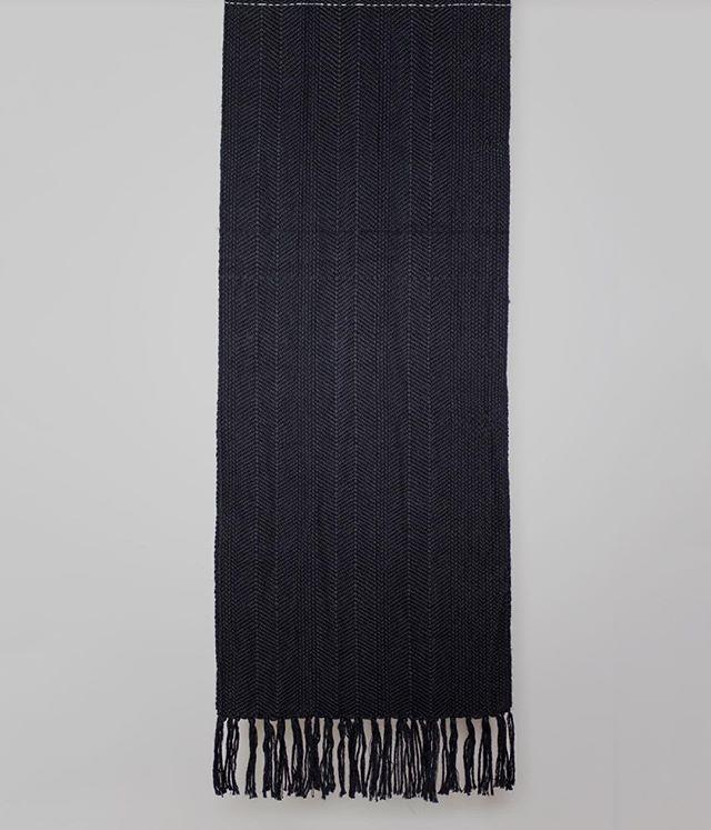 Soft and luxurious alpaca & cashmere scarf #fiberart #textiles #fiberartist #weaving