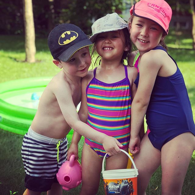 The three musketeers ❤️💚💜 @lil_pou  @nataliaosta