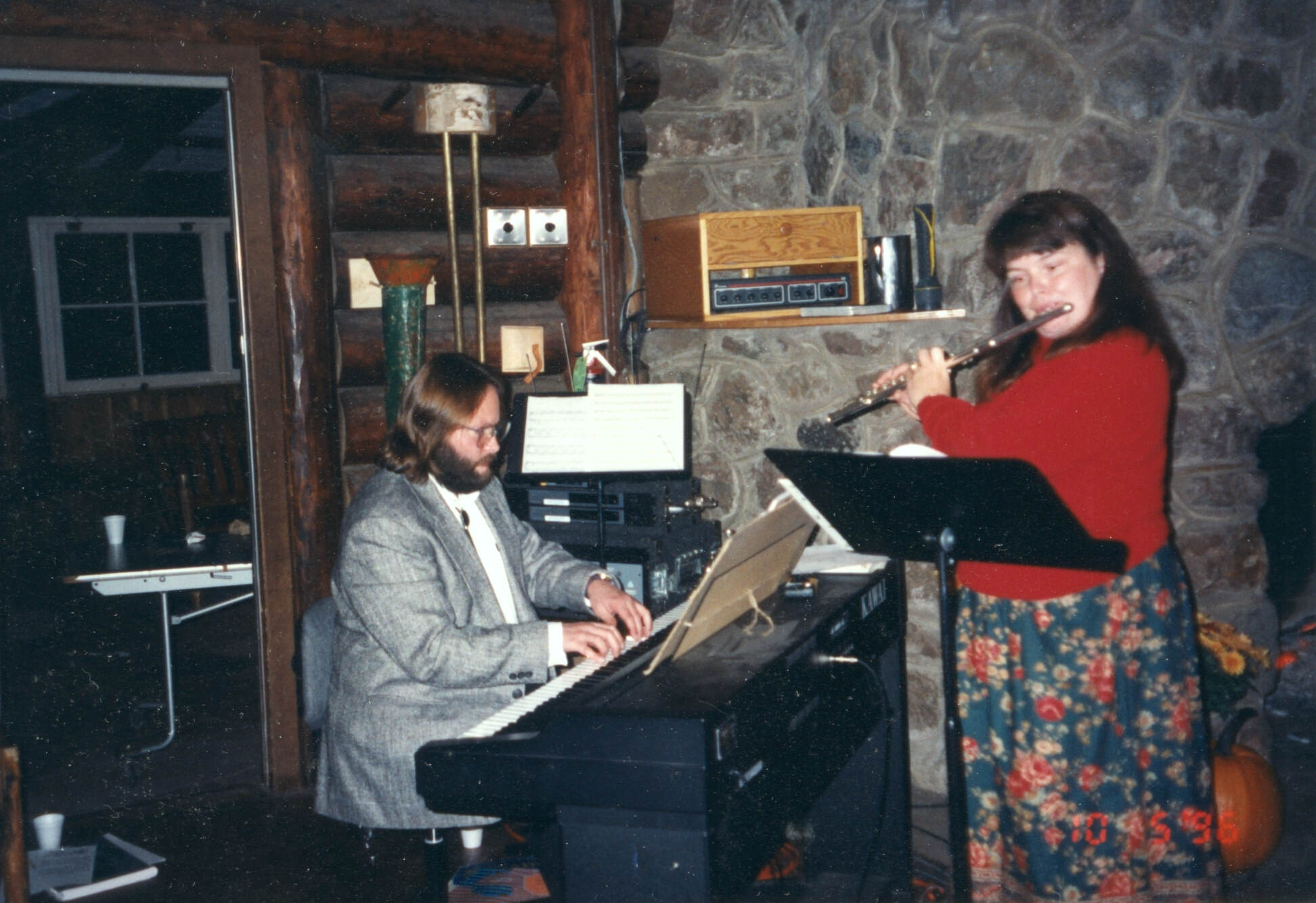 Piano and flute duet