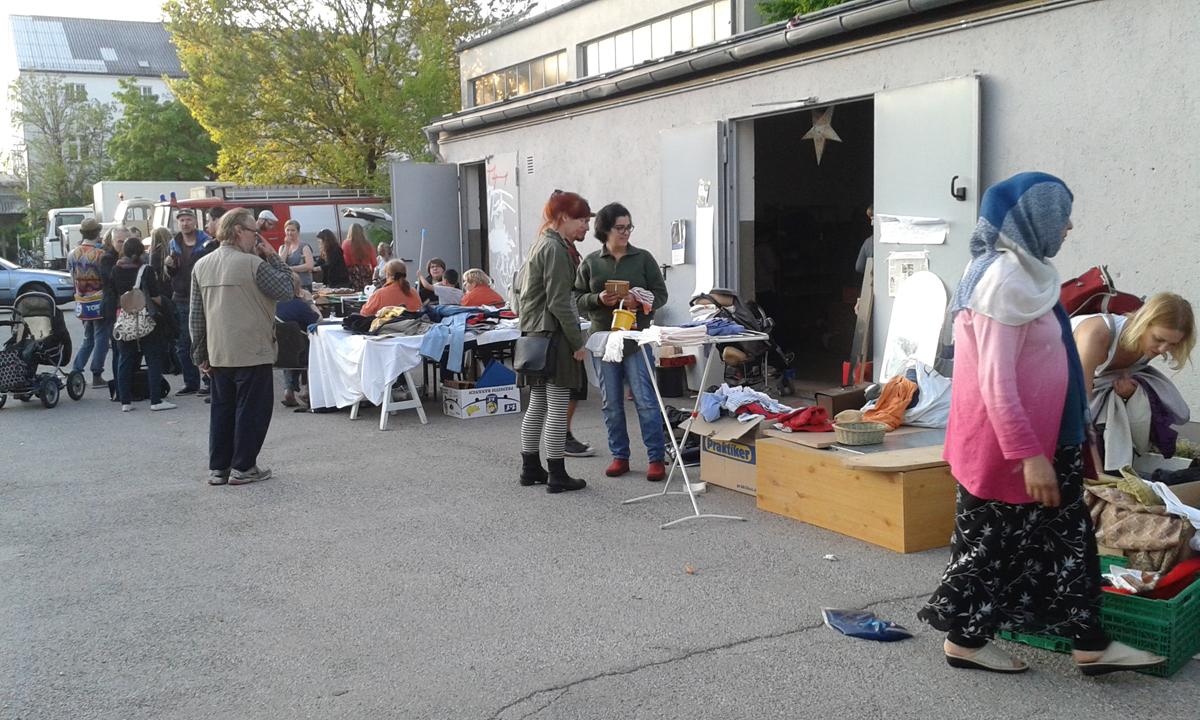 BrauchBar und Foodsharing / Zona Libre
