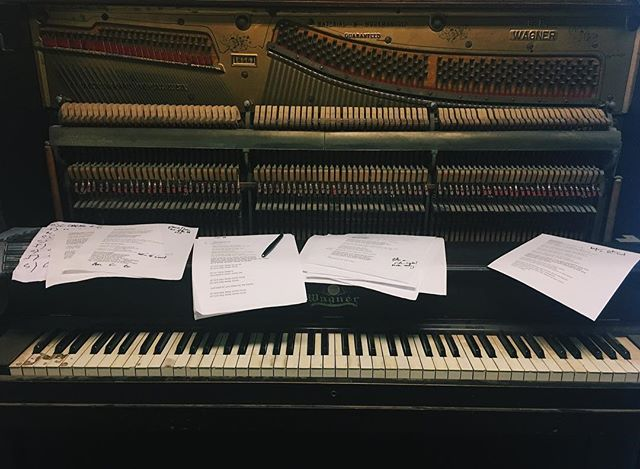 Just another day at the orifice. #piano #pianomusic #songwriting #wagnerpiano