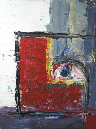 Untitled, 2004.  Acrylic on canvas