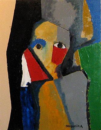 "(Portrait), 2, 2005 30 x 24"". Acrylic on canvas"