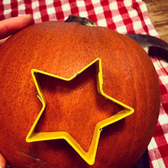 star-pumpkin