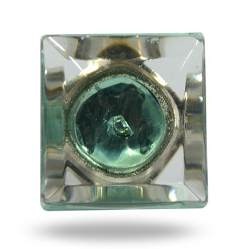 Deco Style Clear Glass Square
