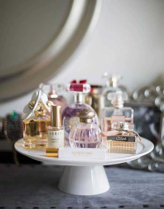 Perfume display.    (Photo:   Cosmopolitan  )