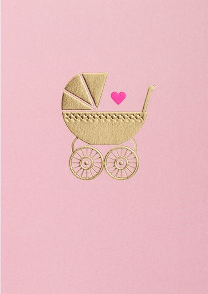 Parents   Why not frame new baby cards and hang them in your nursery?   £2.75,  Oliver Bonas  (boy version available also).