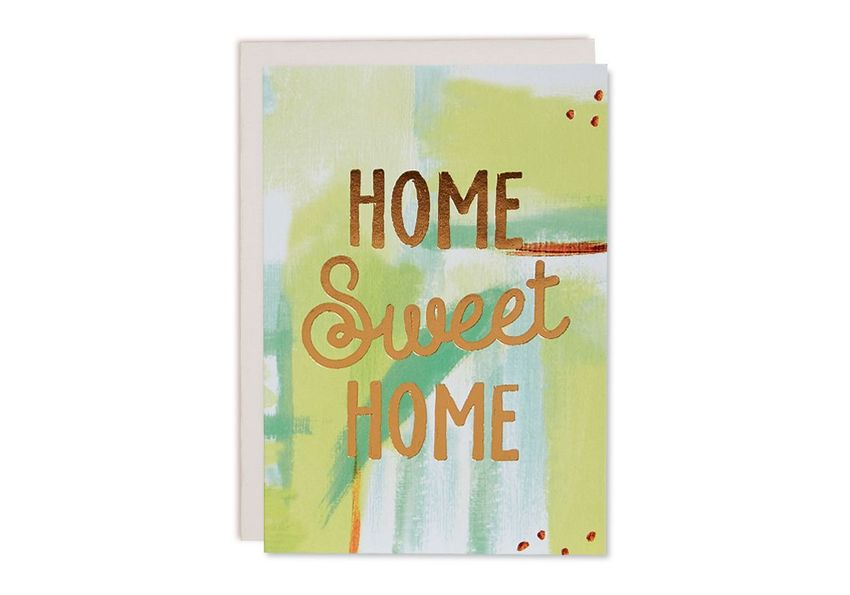 Homebunny   Turn a new home card into a welcoming piece of wall art.    £2.95, Oliver Bonas.