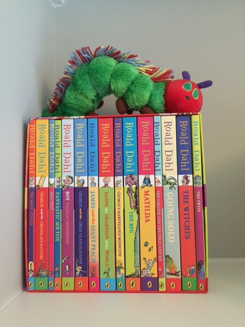 Every house essential: the complete collection of stories. Ready and waiting for Baby L when he's older.