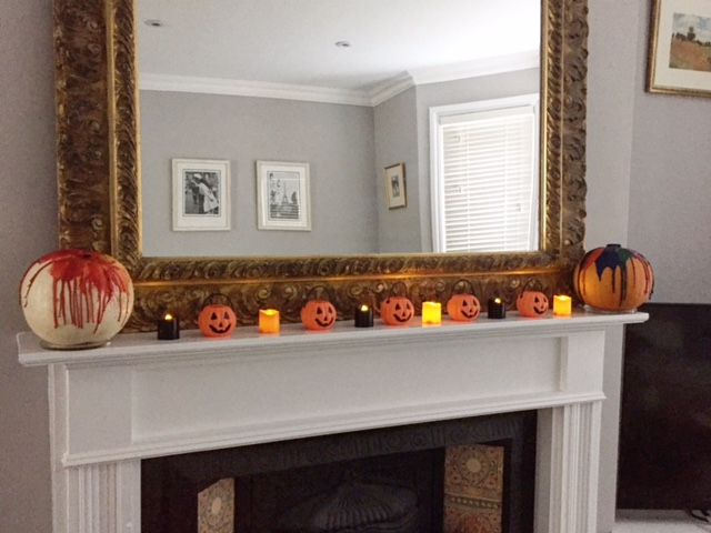 I added mine to each side of our fireplace to balance it out.