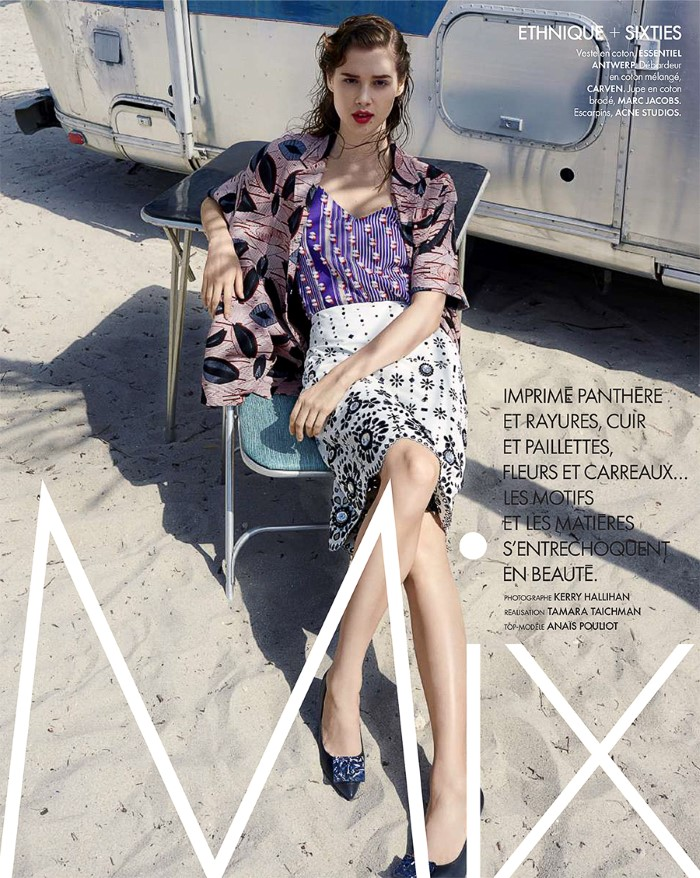 Anais Pouliot Wears Airstream Style, Lensed By Kerry