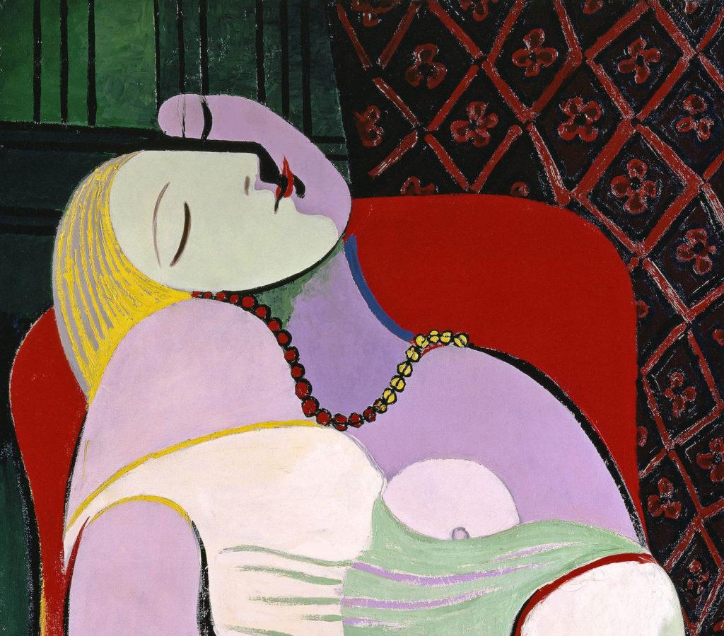 Pablo Picasso, Le Rêve (The Dream) (1932). Private collection, image ©Succession Picasso/DACS 2017.