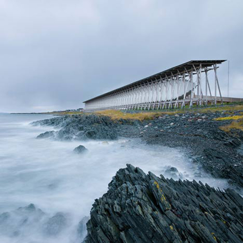 Witch-Burning Steilneset Memorial by Peter Zumthor & Louise Bourgeois