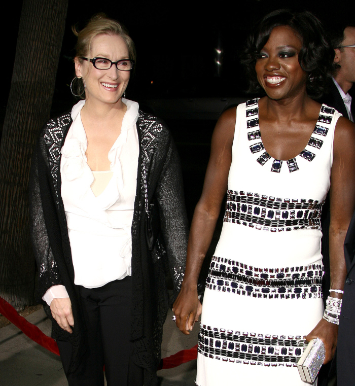 Close friends Meryl Streep and Viola Davis