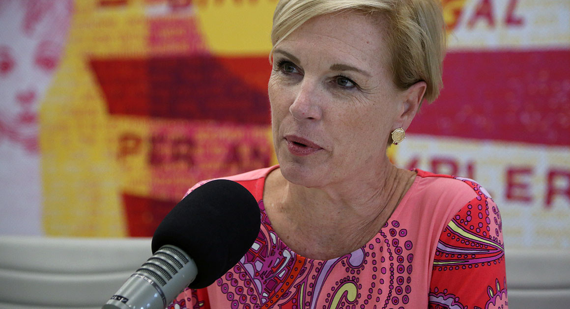 Cecile Richards,the president of the Planned Parenthood Federation of America and Planned Parenthood Action Fund