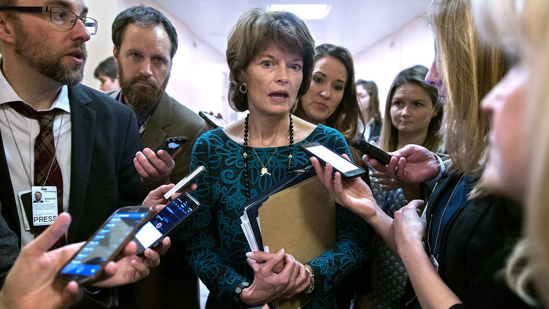 Sen. Lisa Murkowski (R-Alaska) is a key moderate in the Senate, taking a leadership position in trying to work with Democrats.