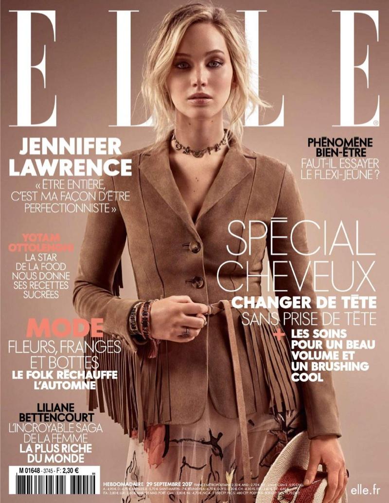 Jennifer Wears Dior In Elle France Sept. 29, 2017 (1).jpg