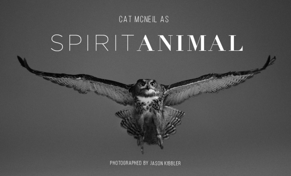 Catherine McNeil As 'Spirit Animal' by Jason Kibbler for Documentary Beauty 003 (3).jpg