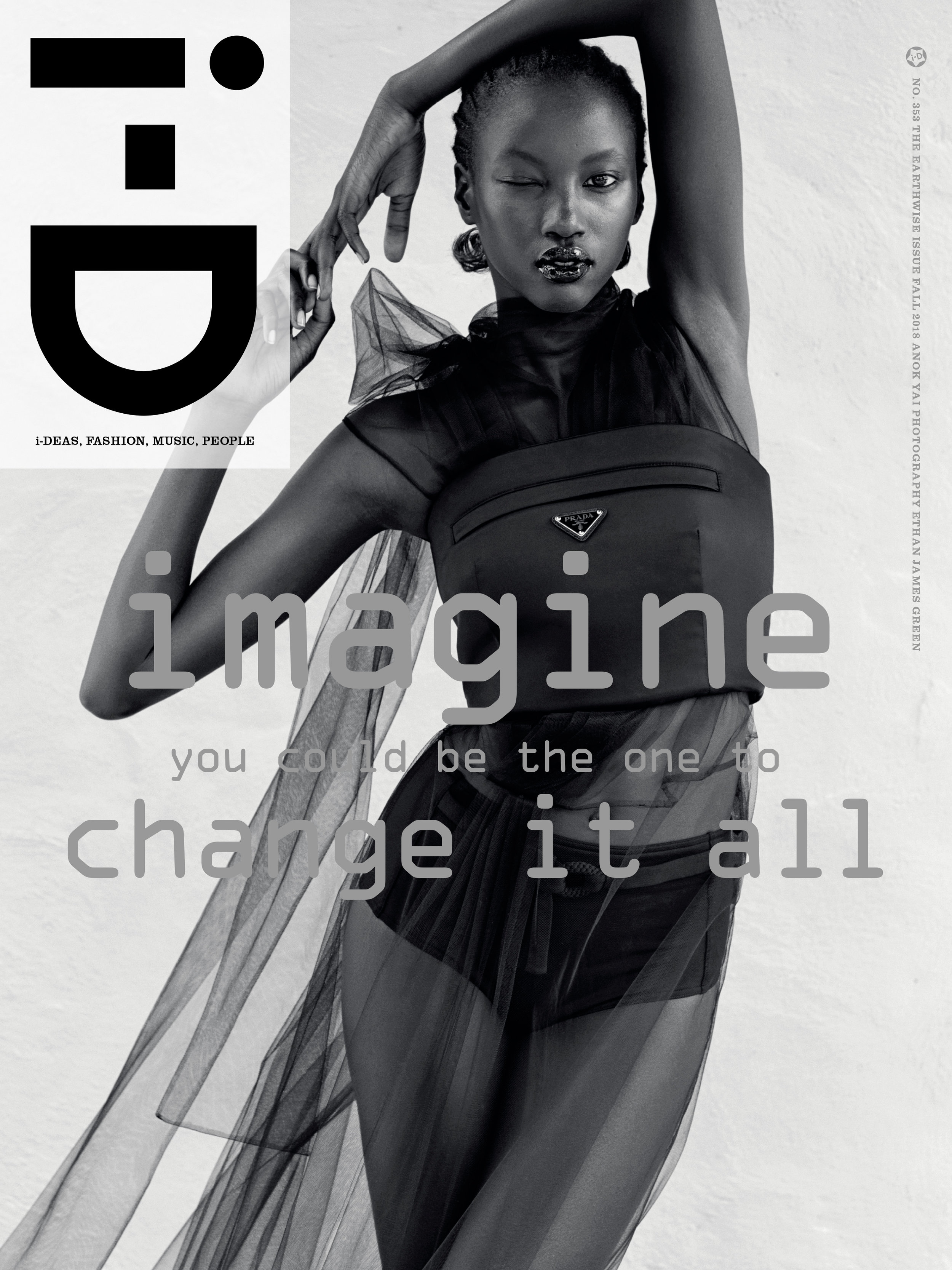 Anok Yai by Ethan James Green for i-D Fall 2018