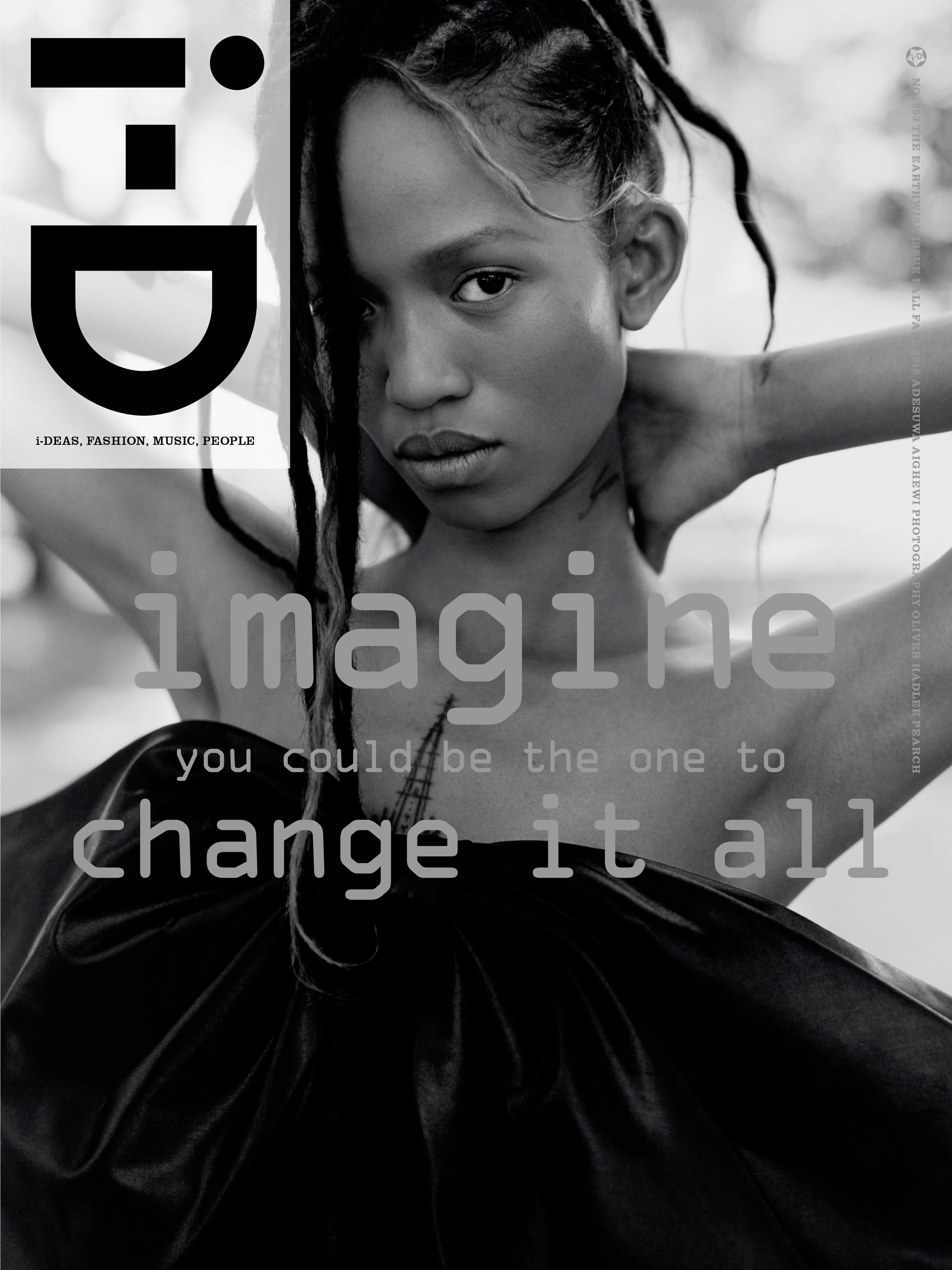 Adesuwa Aighewi by Oliver Hadlee Pearch for i-D Fall 2018