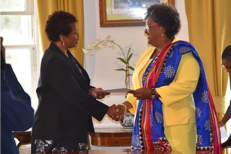 Mia Amor Mottley became Prime Minister of Barbados in May 2018