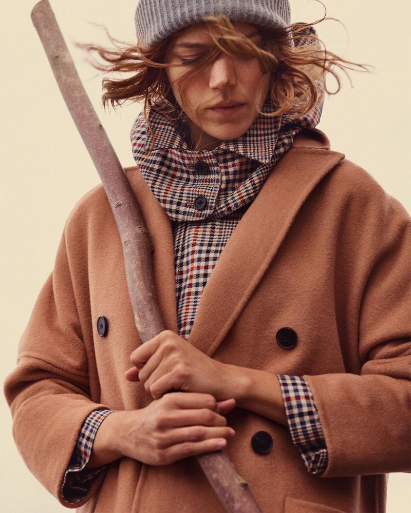Freja Beha Erichsen for Zara Fall 2018 Lookbook 'Cozy Feeling' (1).jpg
