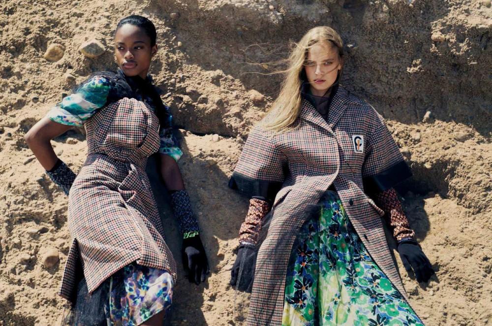 Ine Neefs, Mayowa Nicholas by Drew Jarrett for Vogue Spain Nov 2018 (1).jpg