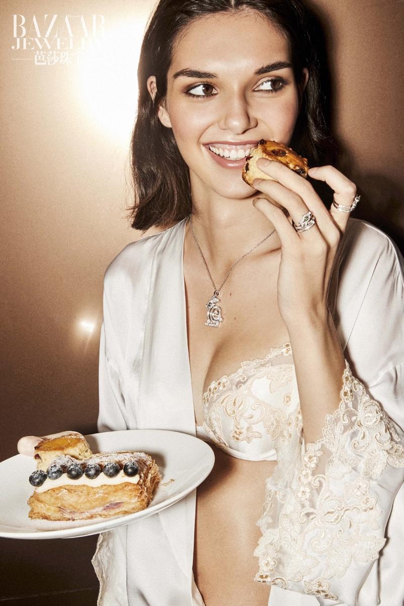 Julia Fort in bridal lingerie for Harper's Bazaar China Oct 2018 (6).jpg