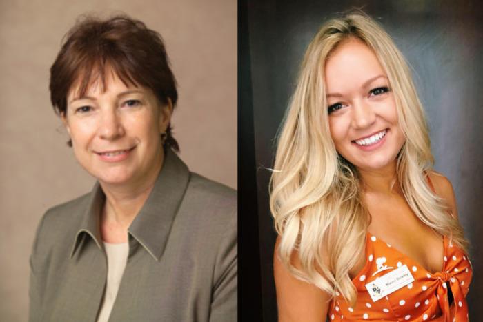 Dr. Nancy Van Vessem (L) and Maura Binkley (R). Photo: TBH/Facebook