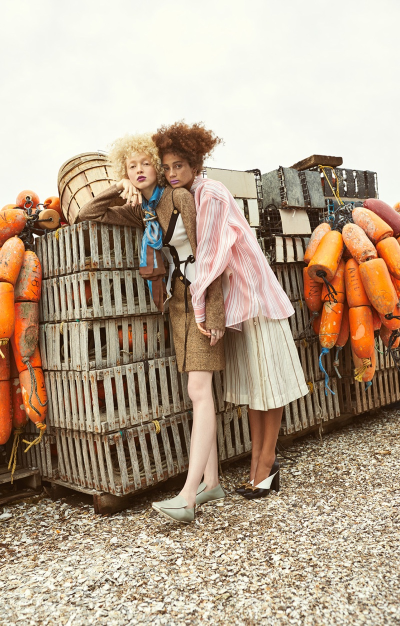 Thais Borges and Catriona Frean in Mojeh Magazine (4).jpg