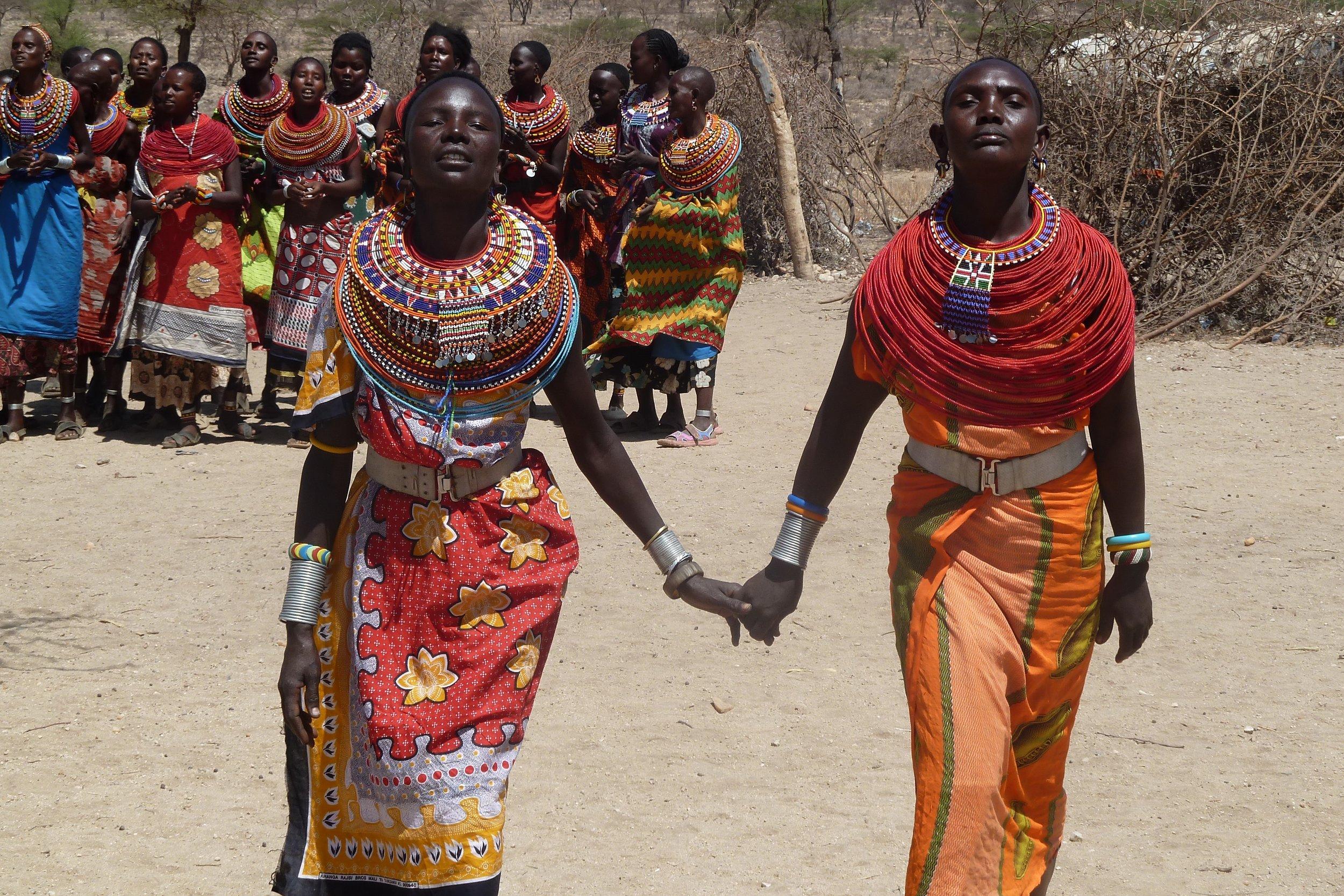 WOMEN IN KENYA. PHOTO BY  JOHN MCARTHUR  ON  UNSPLASH