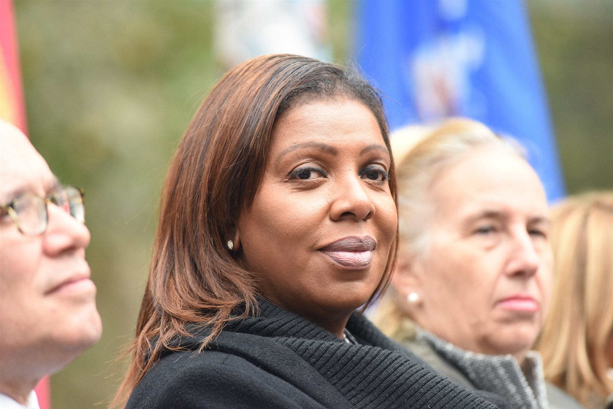 Newly-elected NY Atty Gen Letitia Tish James is ready to take on Trump
