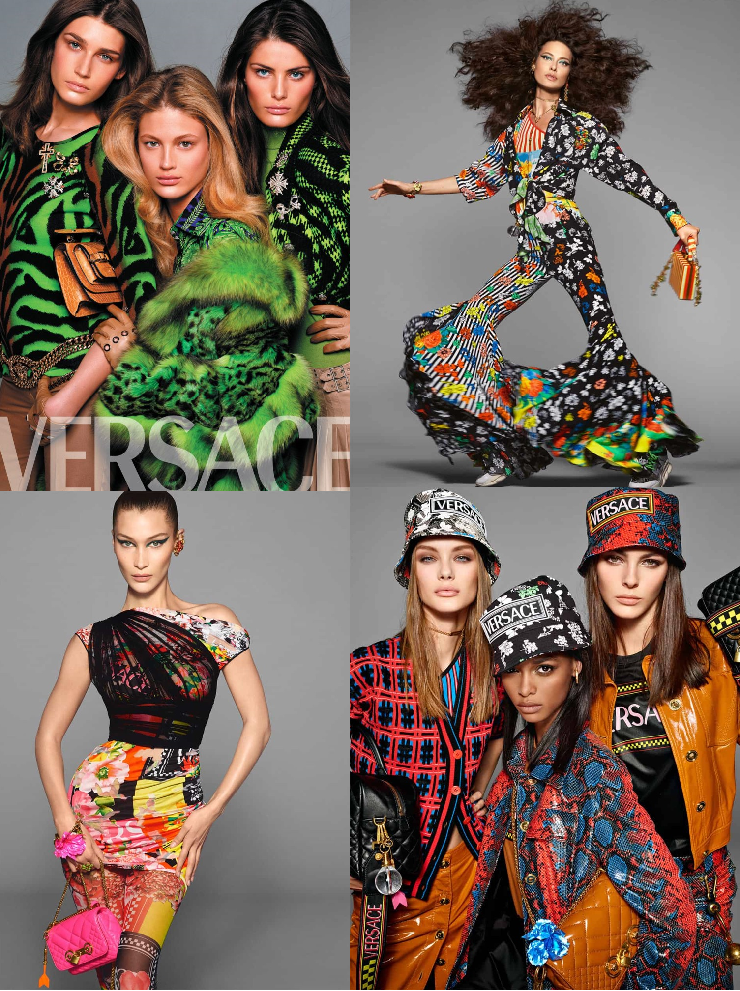 Versace Spring 2019 Campaign by Steven Meisel collage.png
