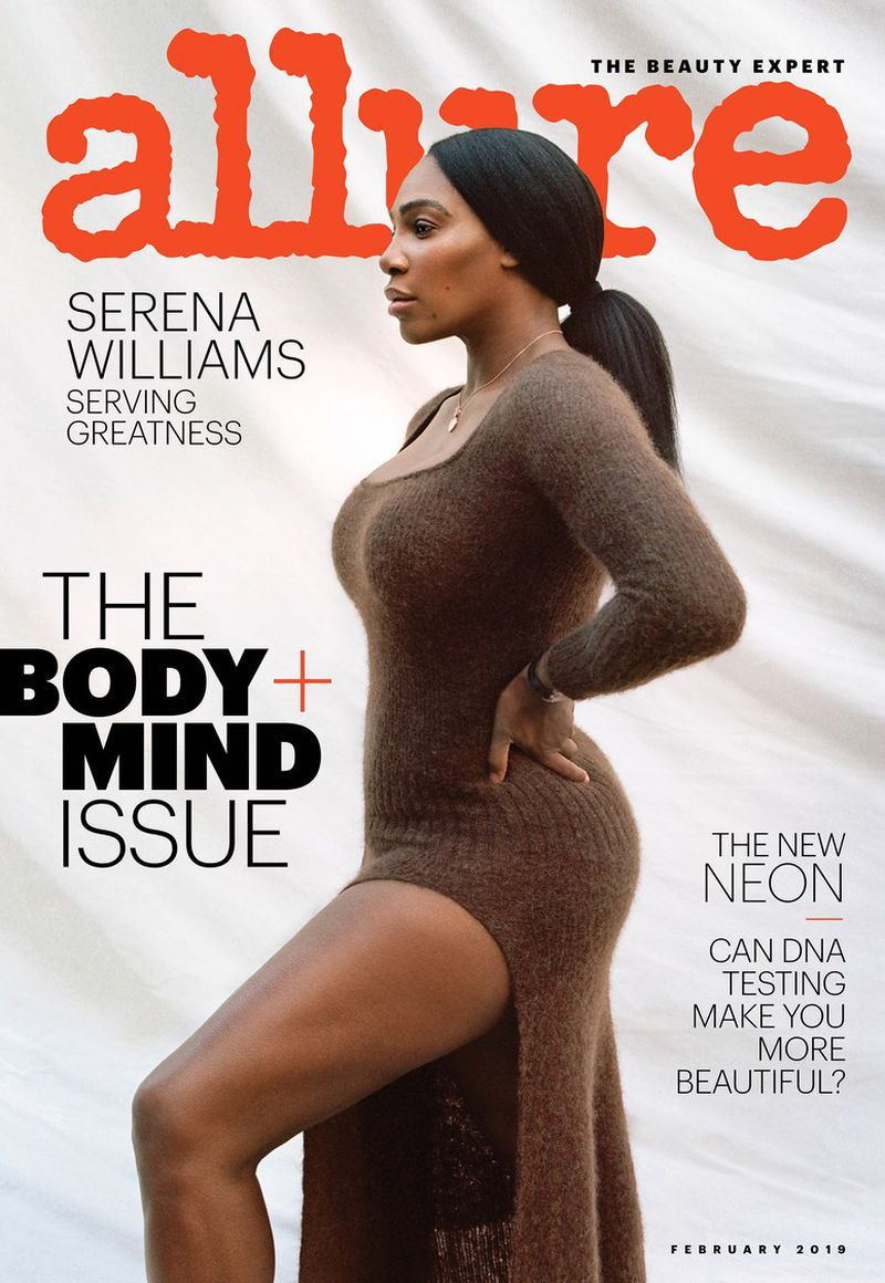 Serena Williams by Tanya Posternak for Allure Magazine Feb 2019-Cover (8).jpg