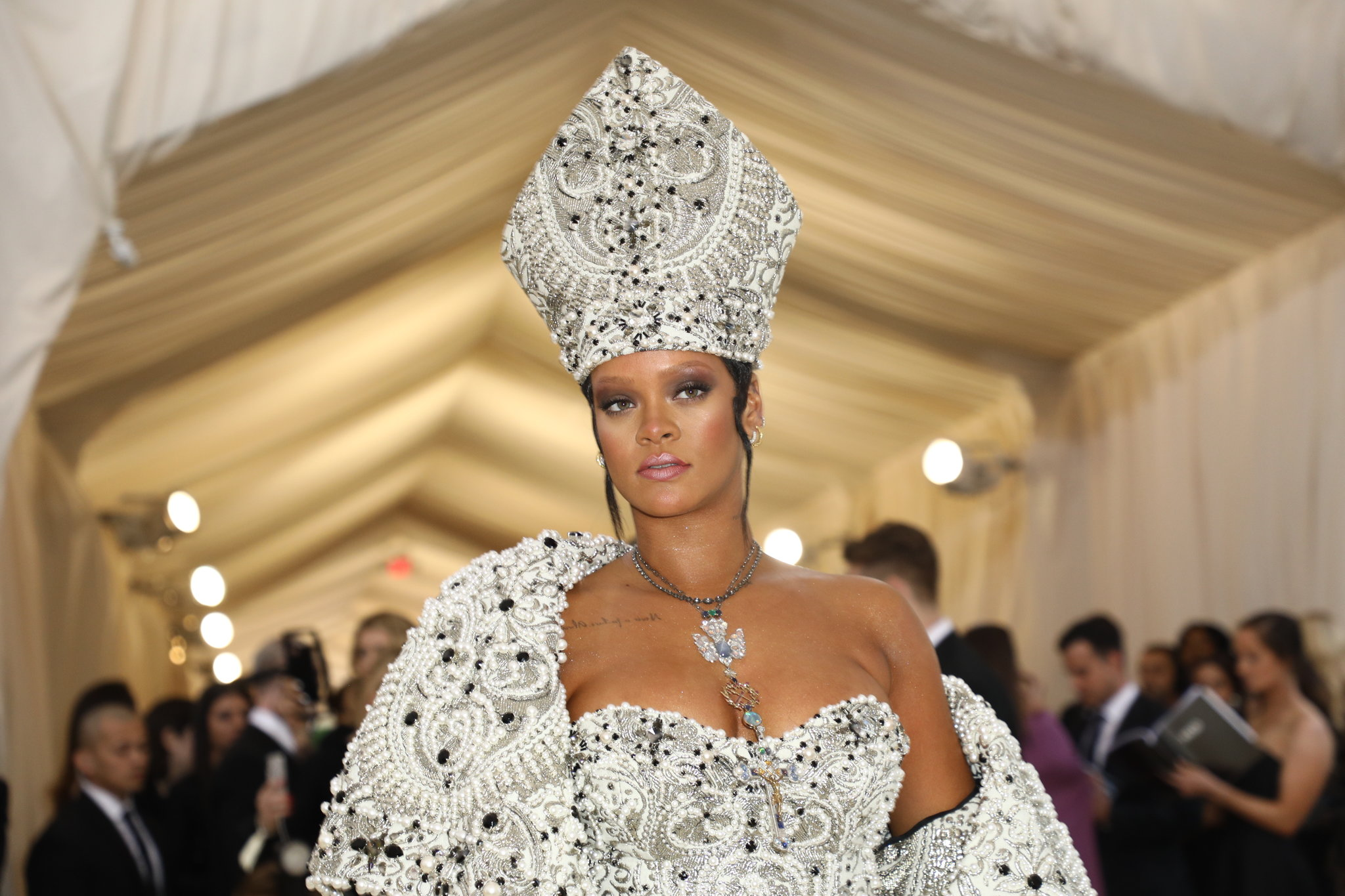 Rihanna at the Costume Institute Gala last year.CreditCreditDamon Winter/The New York Times