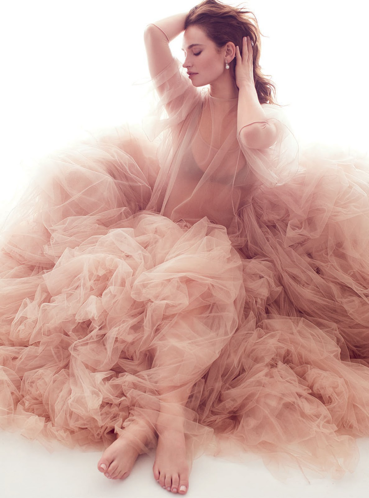 Lily James by Alex Lubomirski for Harpers Bazaar UK March 2019 (4).jpg