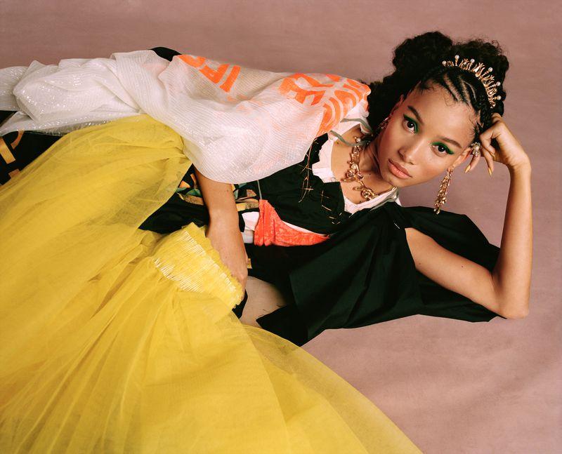 Nadine Ijewere 'Black Cotillion' for Garage Magazine SS2019 (1).jpg
