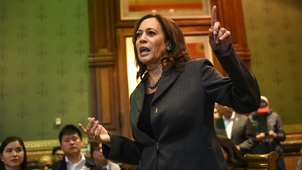 Democratic presidential candidate Kamala Harris says that passing the ERA is a top, early priority in her presidency.