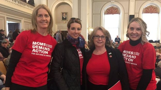 New Hampshire members of Moms Demand Action.