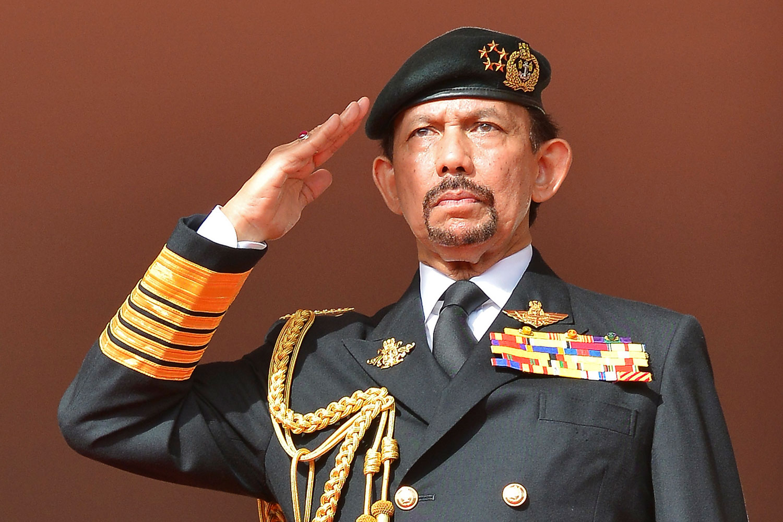 Sultan of Brunei Hassanal Bolkiah in 2014.