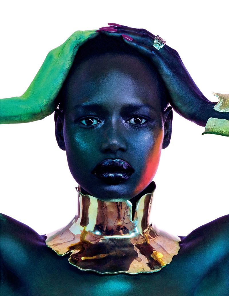 Ajak Deng In 'Estrela Dacente' Lensed By Jamie Nelson For Vogue Portugal April 2019