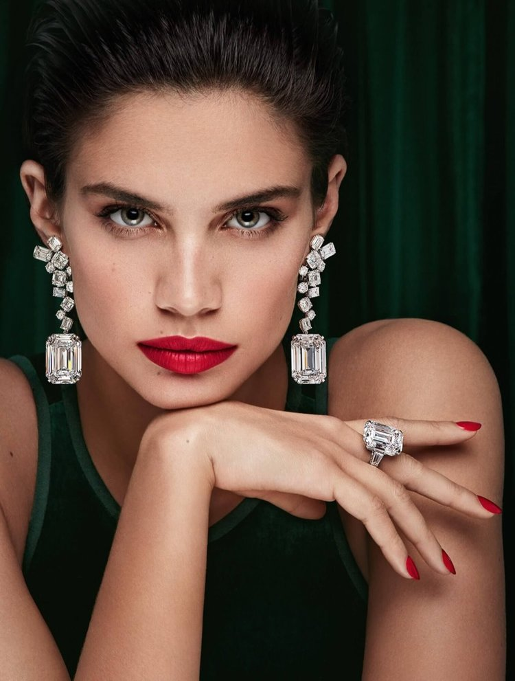 Luxury From Sierra Leone - Will Sara Sampaio also front the Peace Diamond?