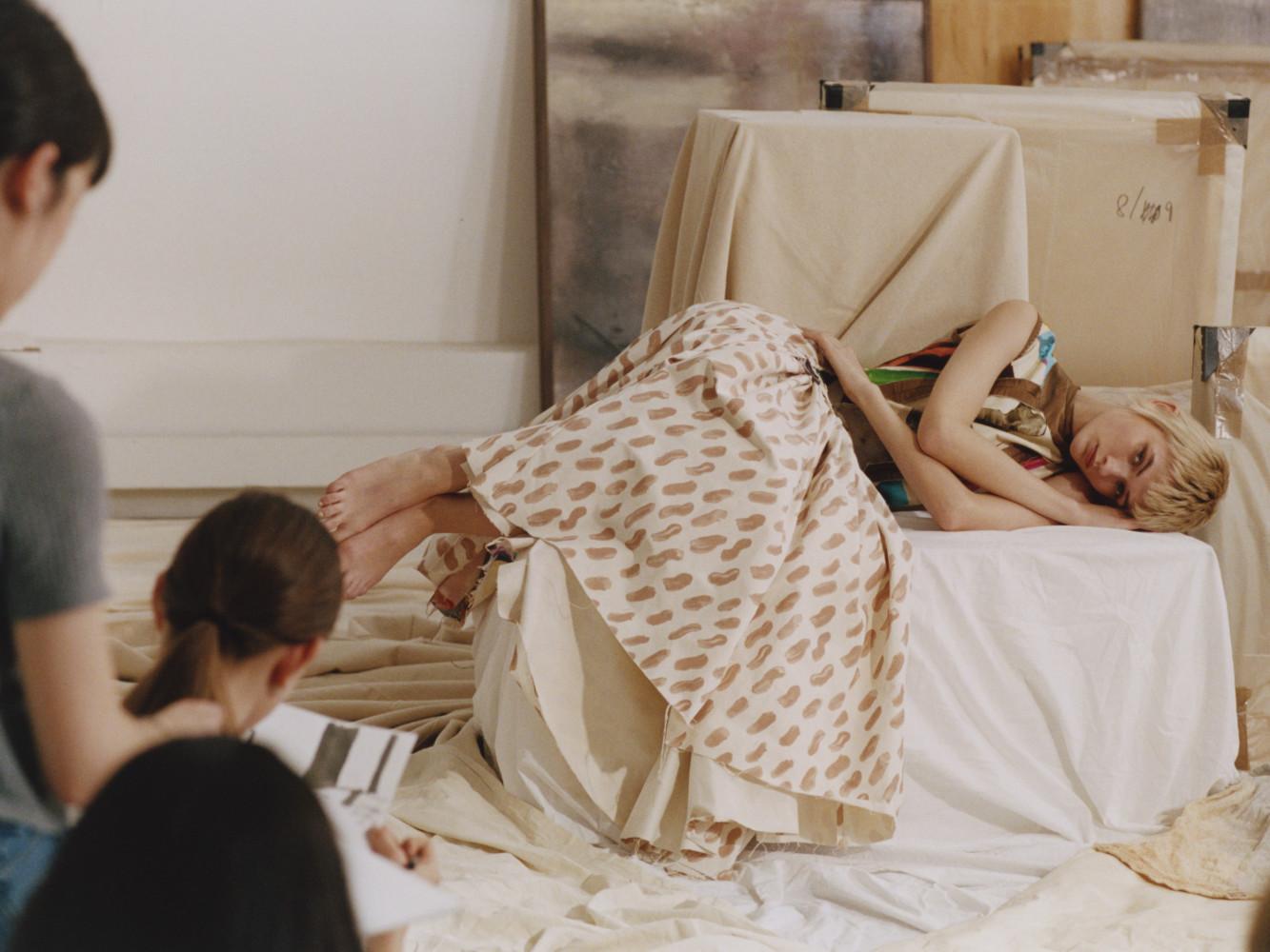 Lara Mullen wearing Marni lensed by Chloe Le Drezen for SSAW Magazine March 2019.