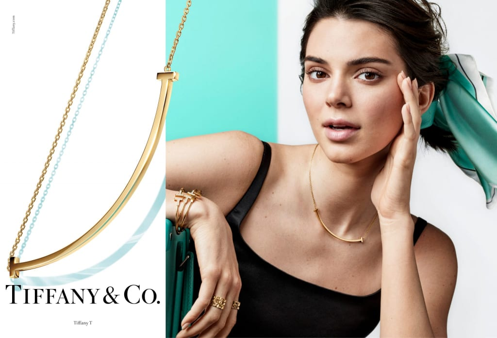 Kendall Jenner by Craig McDean for Tiffany & Co SS19 Campaign.