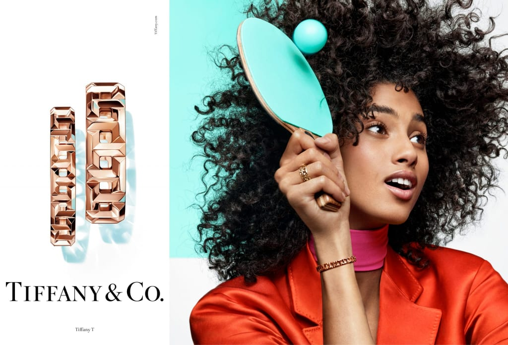 Imaan Hammam by Craig McDean for Tiffany & Co SS19 Campaign.