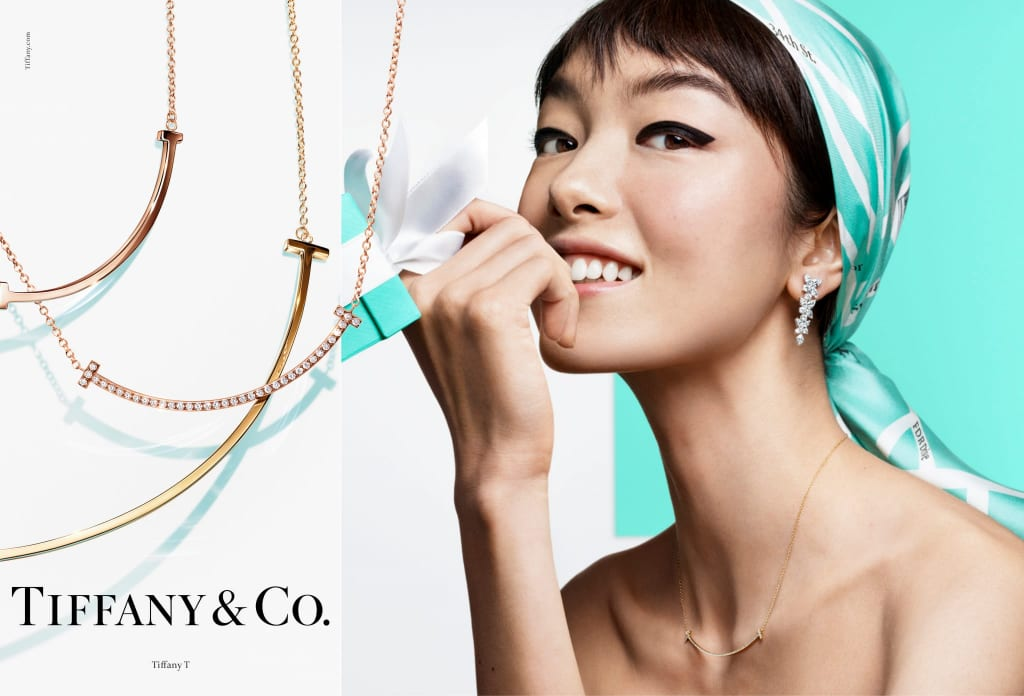 Fei Fei Sun by Craig McDean for Tiffany & Co SS19 Campaign.